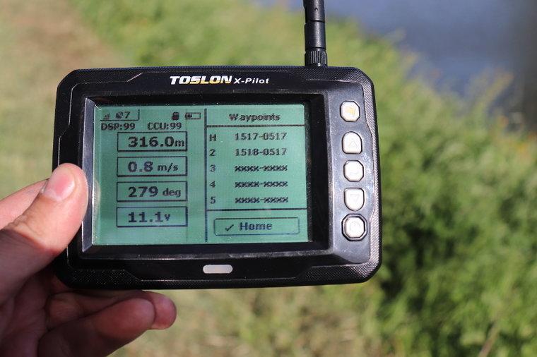 493072112e3 Toslon X-Pilot autopilot - Berns Baitboats
